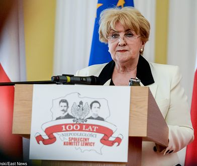 Wybory parlamentarne 2019. Danuta Waniek rezygnuje ze startu