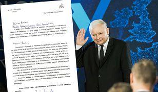 Jarosław Kaczyński napisał list do wszystkich Polaków. Ma prośbę