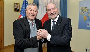 Dana Rohrabacher i Antoni Macierewicz