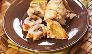 Roladki z kurczaka z szynką i serem