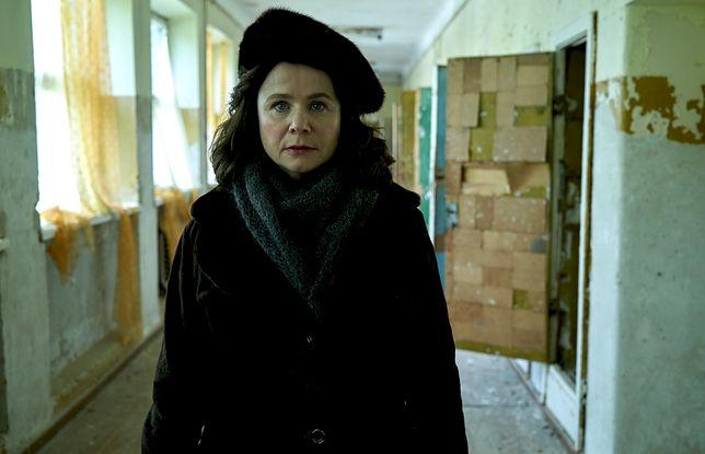 "Emily Watson jako Ulana Khomyuk w serialu ""Czarnobyl"""