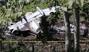 Meksyk. Katastrofa samolotu wojskowego. Zginęli żołnierze