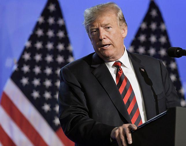 rezydent USA odniósł się do swojej groźby opuszczenia NATO