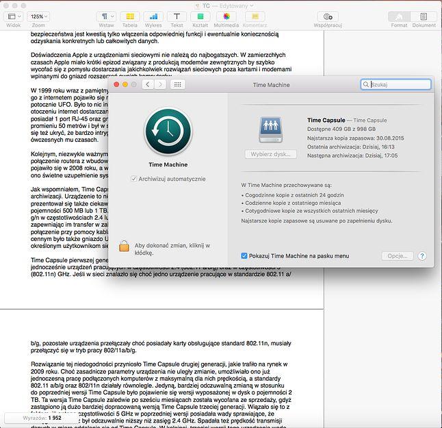 Uruchomienie automatycznej archiwizacji to wskazanie dysku docelowego, oraz zatwierdzenie. Ewentualnie zawężenie archiwum do określonego katalogu lub grupy katalogów.