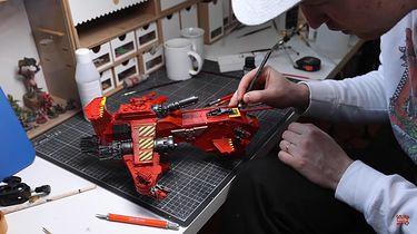 Model z Warhammera za ponad 100 tys. złotych. Myślał, że to żart - Warhammer 40K, model Thunderhawk