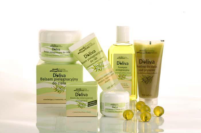 Kosmetyki firmy Doliva