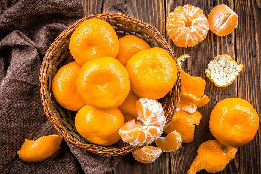 Kosz mandarynek