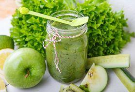 Domowe zielone smoothies, które oczyszczają organizm