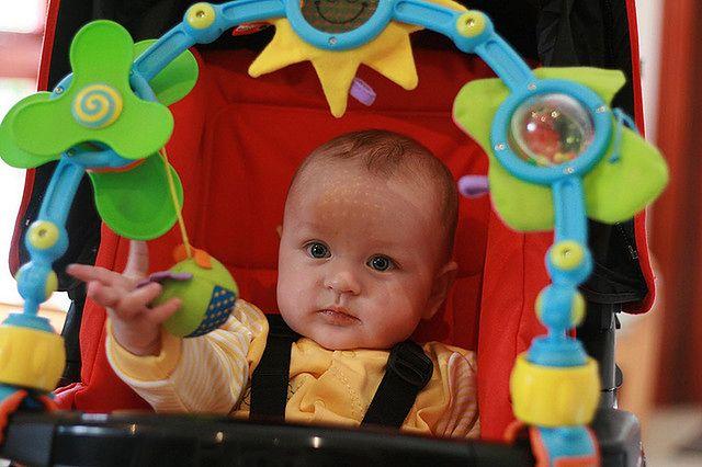 Zabawki do wózka dla dzieci