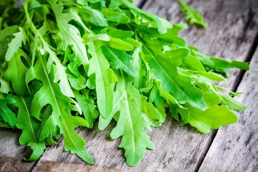 Zielone liście warzyw