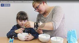 Jak przygotować ciastopiankolinę do zabaw manualnych?