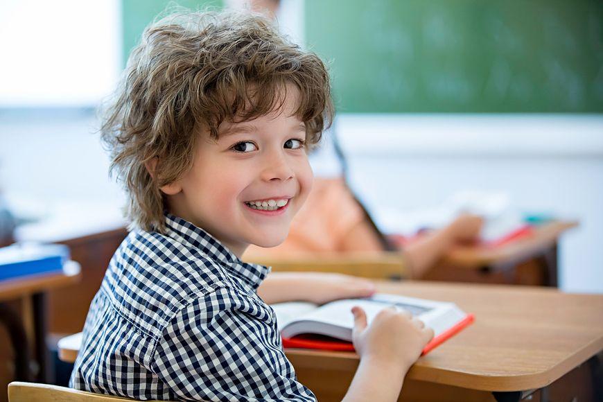 Uczeń w szkole