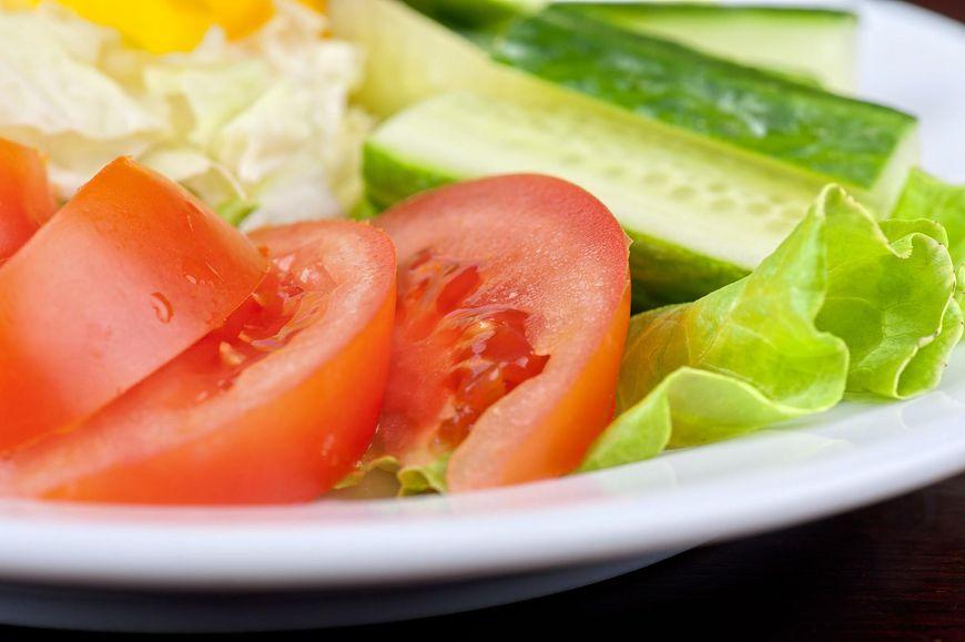 Ogórek i pomidor to zdrowe połączenie