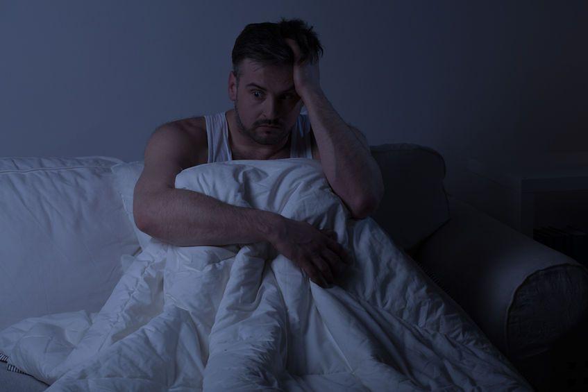 Przyczynami bezsenności mogą być zaburzenia pracy poszczególnych organów