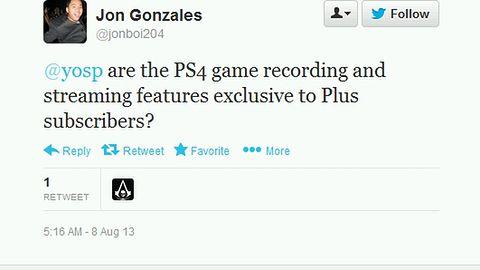 PlayStation Plus nie będzie wymagane do dzielenia się filmikami z gier na PlayStation 4