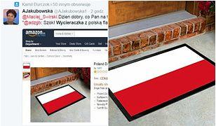 """Flaga Polski jako wycieraczka. """"Patriotyczny"""" hit Amazona"""
