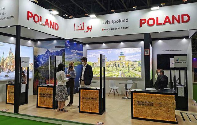 Polska Organizacja Turystyczna na targach turystycznych w Dubaju