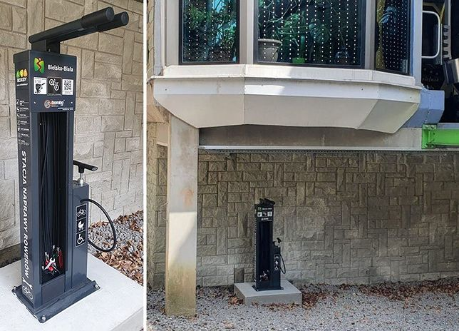 Śląskie. Tuż przed majówką uruchomiono w Bielsku-Białej kolejną, nową stację serwisową dla rowerów.