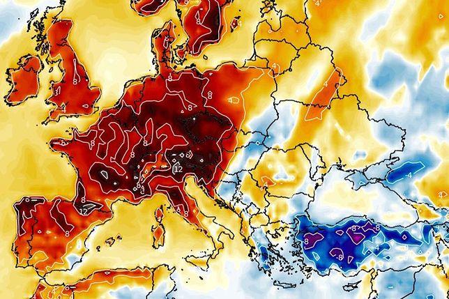 Pogoda. Przed nami uderzenie ciepła. 21 st. C, ale są też ostrzeżenia