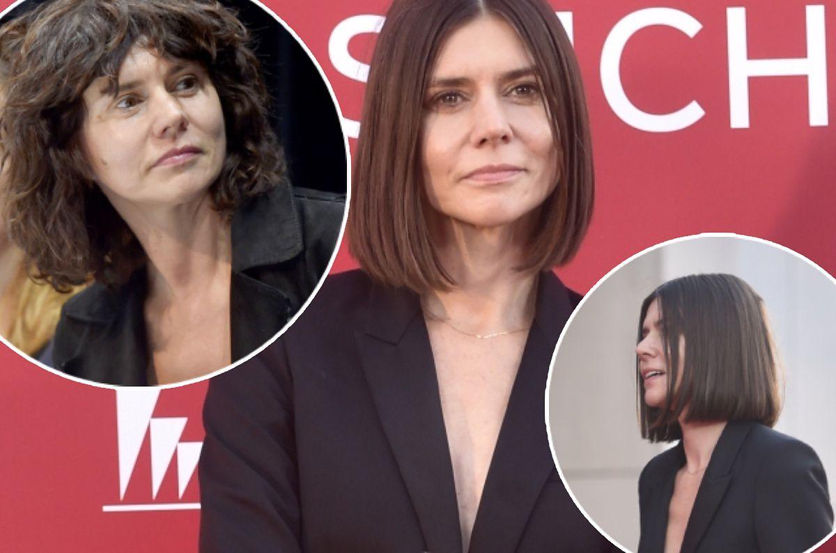 Małgorzata Szumowska na festiwalu filmowym w Gdyni. Pokazała nową fryzurę i  oryginalną stylizację