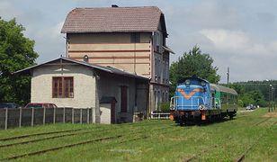 Stacja kolejowa w Cybince