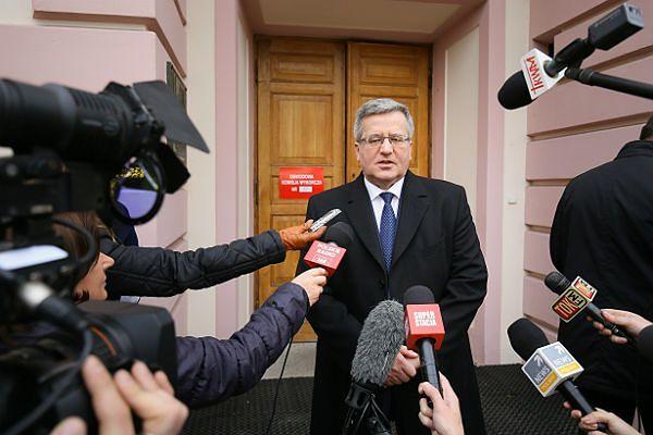 Bronisław Komorowski spotka się z prezesami organów wskazujących kandydatów do składu PKW