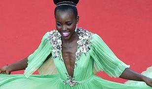 Lupita Nyong'o w Cannes: warto eksponować taki dekolt?