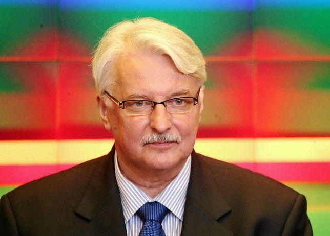 Witold Waszczykowski: mam nadzieję, że procedura wobec Polski zostanie wstrzymana