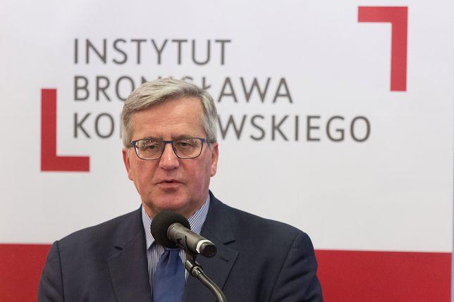 Instytut Bronisława Komorowskiego ma problemy z finansami