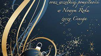 Świąteczne życzenia od Cenegi