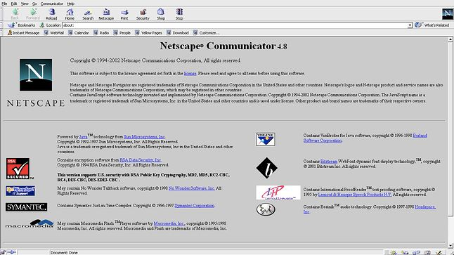 Przeglądarka Netscape