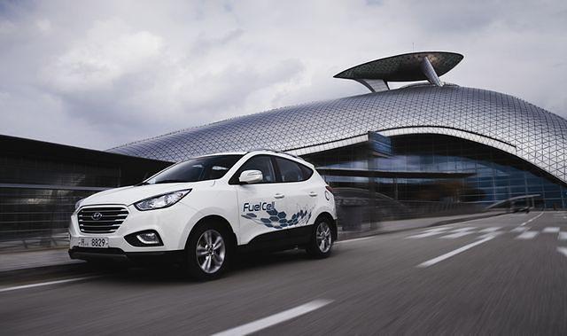 Hyundaie o napędzie wodorowym dla Londynu