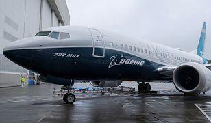Boeing 737 MAX taki jak te, które uległy katastrofom
