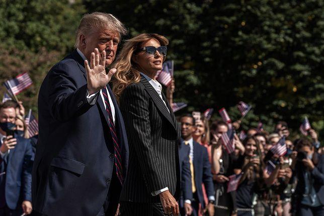 Koroanwirus. Donald i Melania Trump są zakażeni