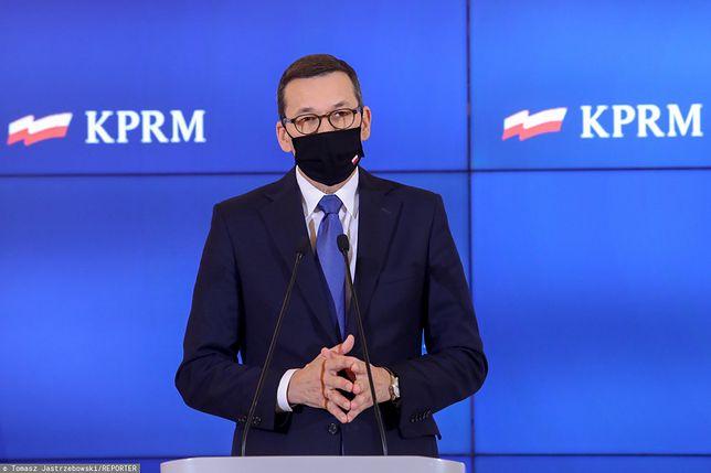 Koronawirus. Premier Mateusz Morawiecki nie wyklucza wprowadzenia stanu wyjątkowego