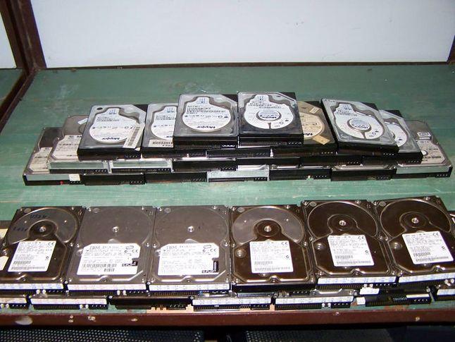 Dyski IBM i Maxtor
