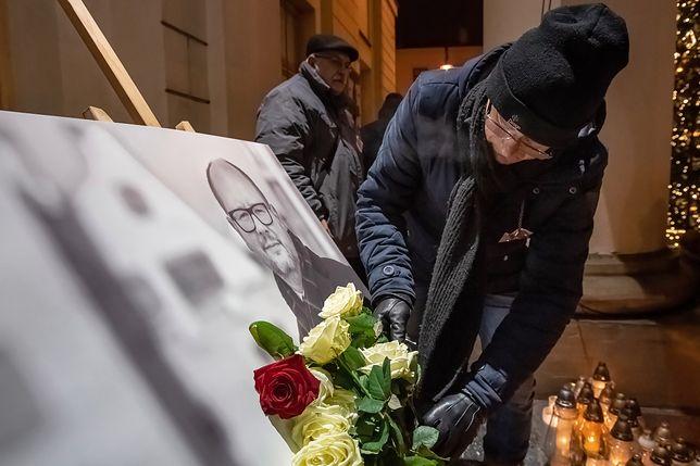 Paweł Adamowicz zmarł 14 stycznia. Mieszkańcy przyszli oddać mu hołd