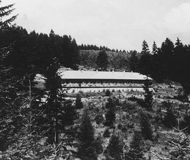 Widok na ośrodek wypoczynkowy Solahütte, ok. 1940-1945 r.
