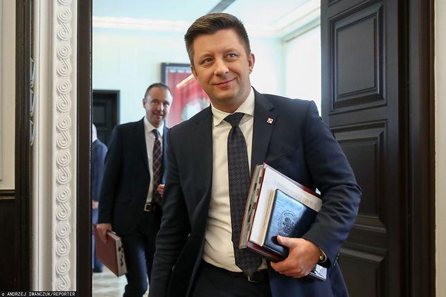 Michał Dworczyk, szef Kancelarii Prezesa Rady Ministrów.