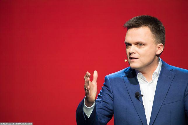 Szymon Hołownia według sondaży może liczyć na ok. 10-12 proc.