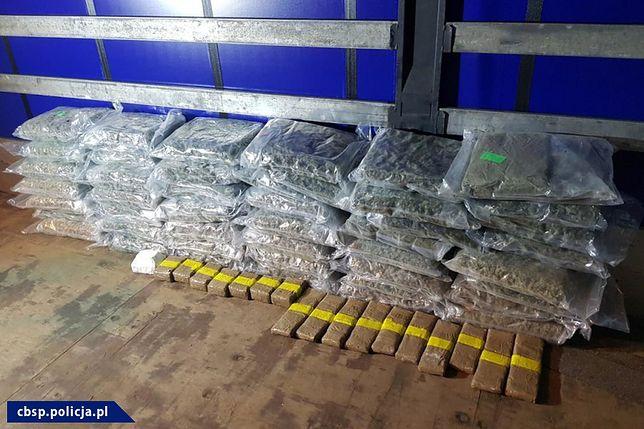 """W ramach operacji """"Przebudzenie mocy"""" CBŚP przejęła narkotyki warte około 90 mln zł"""