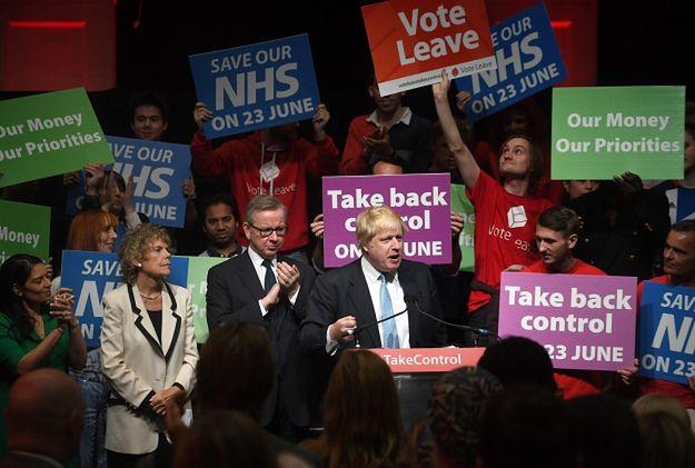 Boris Johnson (były burmistrz Londynu) zachęca do poparcia wyjścia Wlk. Brytanii z UE