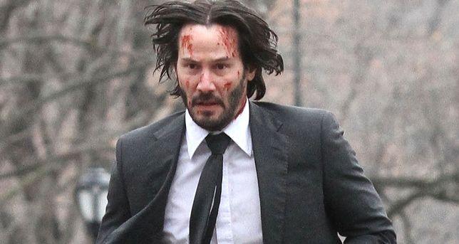 Sceny kaskaderskie dla 53-letniego Keanu Reevesa były nie lada wyzwaniem