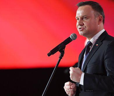 """Warzecha: """"Prezydent Andrzej Duda niemal jak symetrysta"""" [OPINIA]"""
