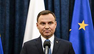 Andrzej Duda pokazał, że się interesuje, ale nic nie może