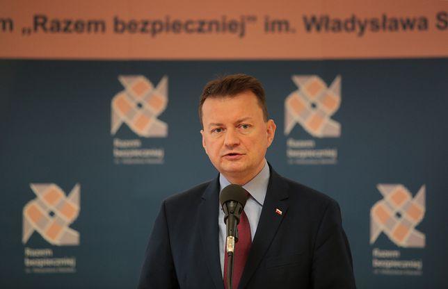 Mariusz Błaszczak podziękował policjantom