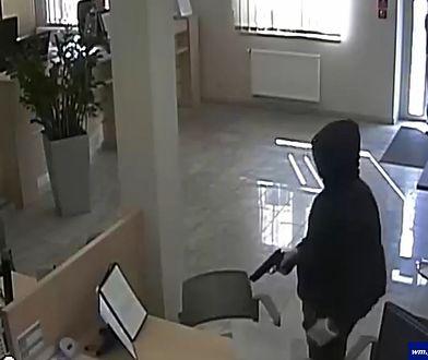 Bank okradł w 100 sekund. Policja nie zdążyła mrugnąć okiem