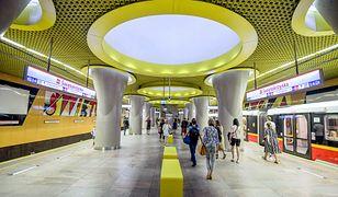 II linia metra. Pociągi przetestowały wydłużoną trasę na Targówek
