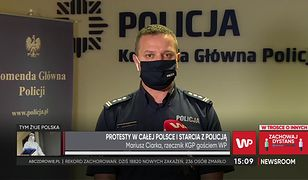 """Strajk kobiet. Media: funkcjonariusz ABW potrącił demonstrantki. Ciarka: """"Wszyscy wobec prawa są równi"""""""