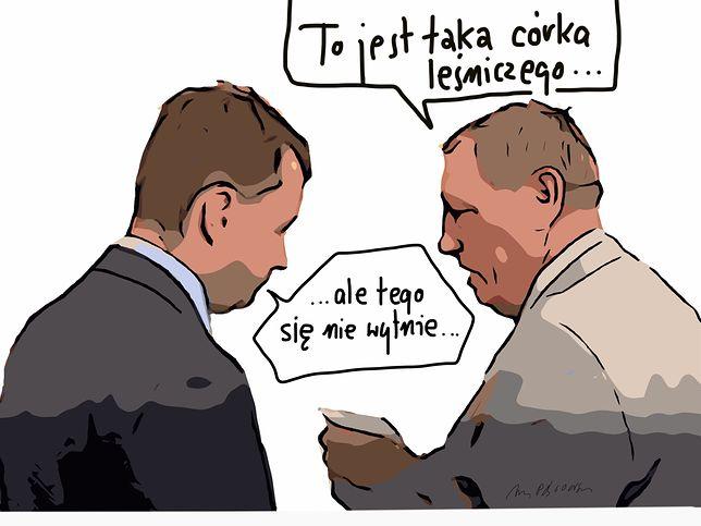 Minister Szyszko pewnie myślał, że wszystko da się wyciąć